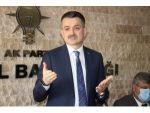 """Bakan Pakdemirli: """"Pancar Ve Şeker Üretiminde Tüm Zamanların Rekoru Kırıldı"""""""
