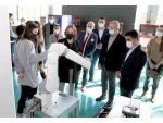 Milletvekili Yılmaz Ve İl Başkanı Ercik Model Fabrikayı İnceledi