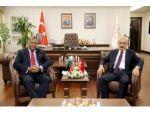 Bakan Elvan, Libya Maliye Bakanı Halid El-mabrouk Abdullah İle Görüştü