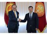 Caparov, Türk İşadamlarını Kırgızistan'a Yatırıma Çağırdı