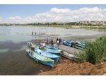 Beyşehir Gölü'nde Balıkçılar, Yeni Av Sezonuna Hazırlanıyor