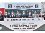 Karatay Belediyesi İlçeye 3 Yeni Sosyal Tesis Daha Kazandırıyor