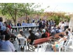 Bakan Kurum'dan, Manavgat yangınından etkilenen mahallelerde inceleme