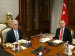 Cumhurbaşkanı Erdoğan, ABD Savunma Bakanı Mattis'i kabul etti