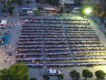 Pamukkale Belediyesi'nden Deliktaş'ta 2 Bin Kişilik İftar Sofrası