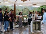 Mimarlık öğrencileri Bi'Nevi Atölye'de