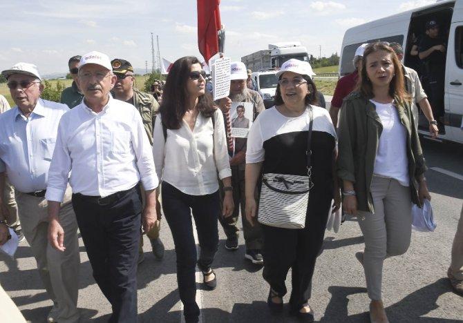 Chp'nin 'Adalet Yürüyüşü'nün 3. Günü Tamamlandı