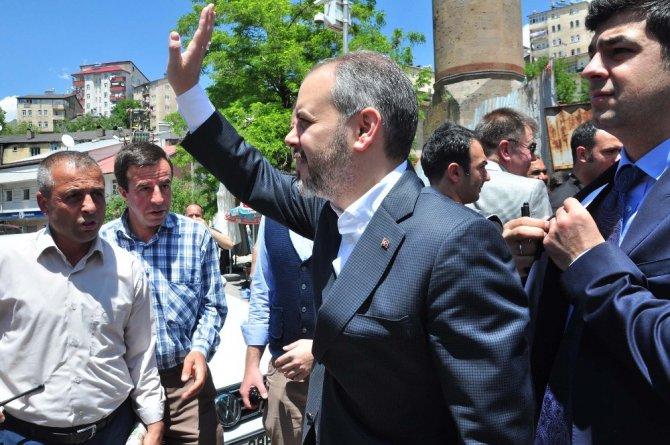 Bakan Kılıç Bitlis'te