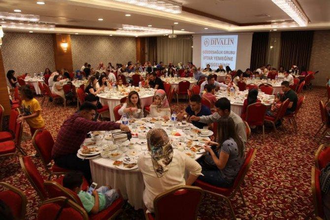 Gözde Sağlık Grubu çalışanlarına iftar verdi