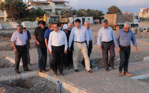 Beykonak Sahil Projesi sürüyor