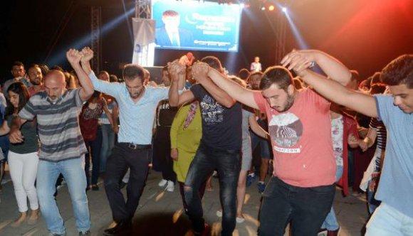 Ramazan şenliklerinde Karadeniz fırtınası