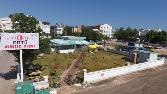 Gençlik Parkı Açılıyor