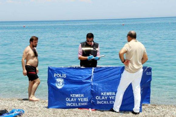 Denize giren Ukraynalı turist öldü