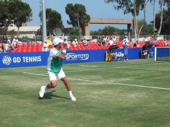 Dominic Thiem, Antalya Open Tenis Turnuvası'na veda etti
