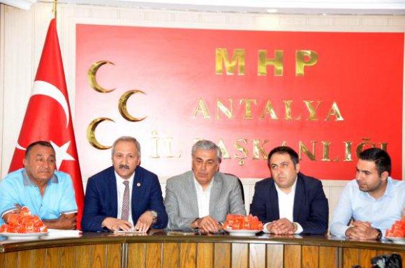 Yurdakul, CHP'ye yüklendi