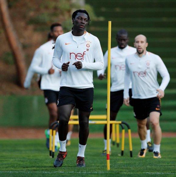 Galatasaray, Atiker Konyaspor maçı hazırlıklarını sürdürdü