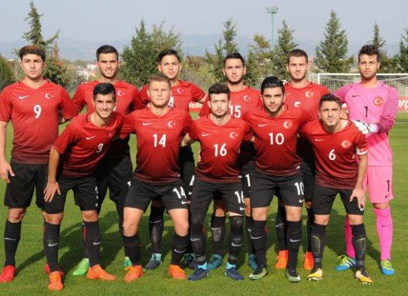 U19 Futbol Milli Takımı, Slovakya'ya 3 - 2 yenildi