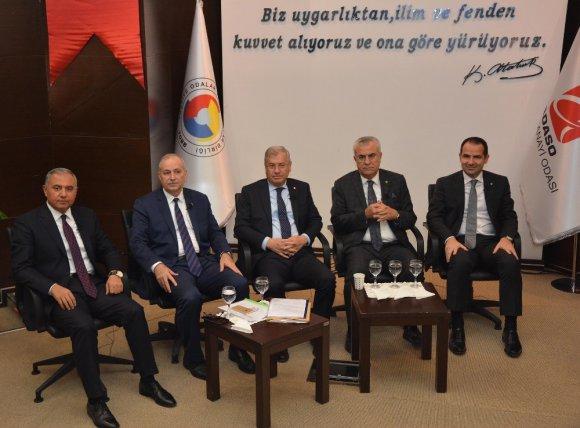 """AOSB Başkanı Sütcü: """"Teşvikler arz ve talebe göre verilmeli"""""""