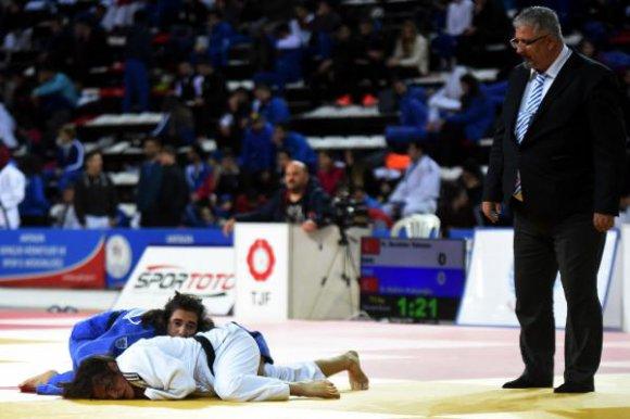 Büyükler Türkiye Judo Şampiyonası Antalya'da başladı