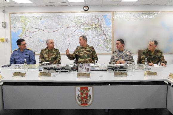 """Tsk: """"108 Hedef Hava Kuvvetlerimiz Tarafından İmha Edilmiştir"""""""