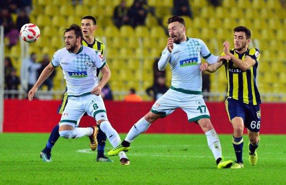 Ziraat Türkiye Kupası: Fenerbahçe: 2 - Akın Çorap Giresunspor: 1 (Maç Sonucu)