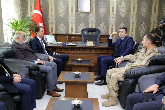 Gümüşhane Valisi Okay Memiş, Torul'da İncelemelerde Bulundu