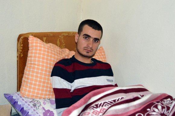 Teröristlerle Girilen Çatışmada Yaralanan Asker Baba Evine Getirildi