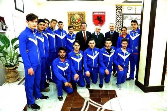 """Başkan Tok: """"Sporcularımızla Gurur Duyuyoruz"""""""