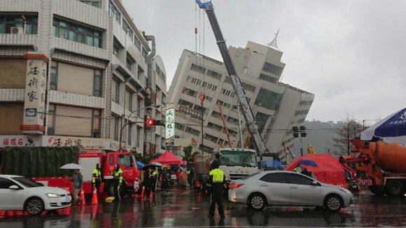Tayvan'da 5.7 Büyüklüğünde Deprem