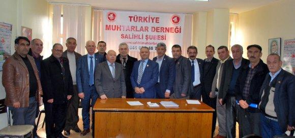 Salihlili Muhtarlar 4. Kez Mehmet Güler'i Seçti