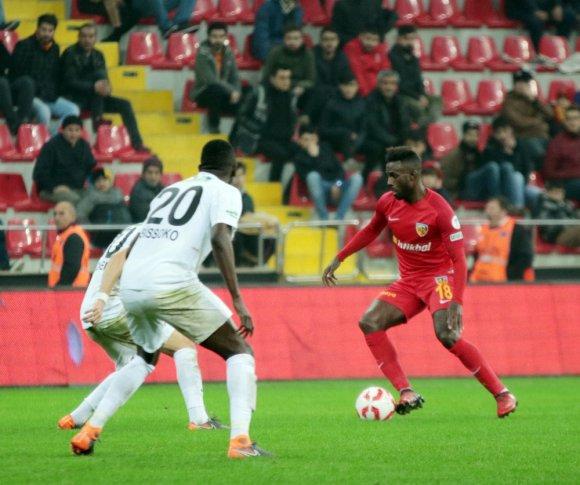 Ziraat Türkiye Kupası: Kayserispor: 2 - T. M. Aksiharspor: 2 (Maç Sonucu)