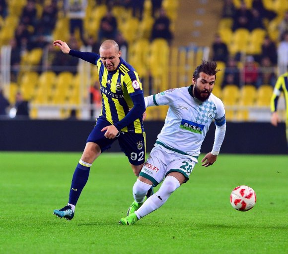 Ziraat Türkiye Kupası: Fenerbahçe: 1 - Aç Giresunspor: 1 (Maç Devam Ediyor)