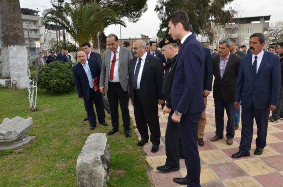 Vali Köşger, Şehit Nedip Cengiz Eker Kütüphanesini Açtı
