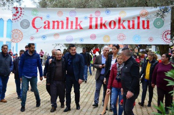 Başkan Kocadon, Çamlık'ta Kermese Katıldı