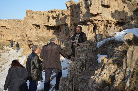 Adilcevaz'daki Mikrobiyalitler Turizme Kazandırılacak