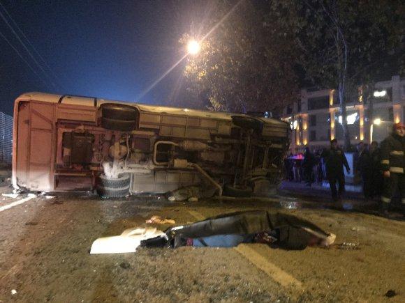 4 Kişinin Öldüğü 11 Kişinin Yaralandığı Kazanın Yargılaması Başladı