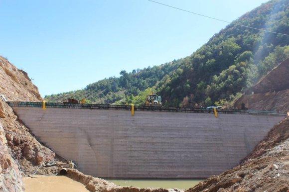 Oğuzlar Barajı Hızla Yükseliyor