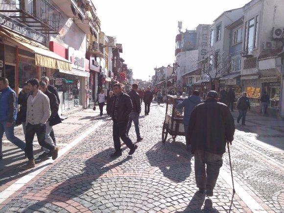 Edirne'de Yalancı Bahar