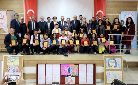 İl Sağlık Müdürlüğü Verem Eğitim Ve Propaganda Haftası Ödül Töreni Gerçekleştirildi