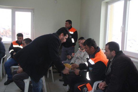 Başkan Karayol Belediye Personeli İle Bir Araya Geldi