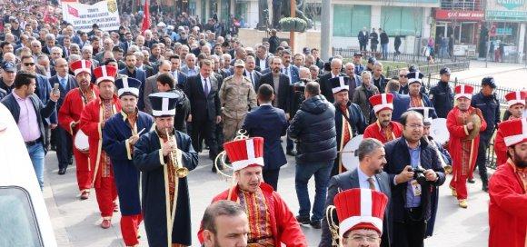 Kahramanmaraş'ta Kortej Yürüyüşü