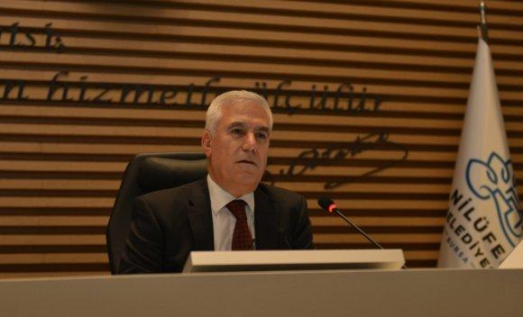 Nilüfer Belediye Meclisi'nden Afrin Harekatı'na Destek Mesajı