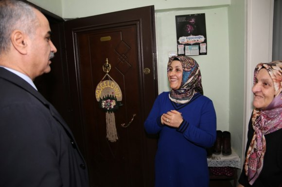 Başkan Aydın'dan Esnaf Ziyareti