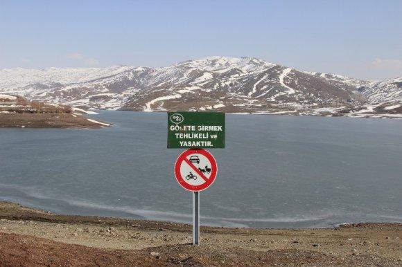 Donan Göller Tehlike Saçıyor