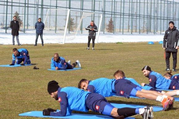 Bb. Erzurumspor'da Samsunspor Maçı Hazırlıkları