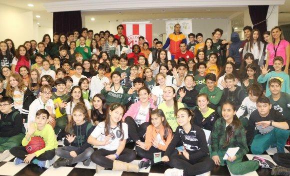 Antalyasporlular, Öğrencilerle Buluştu