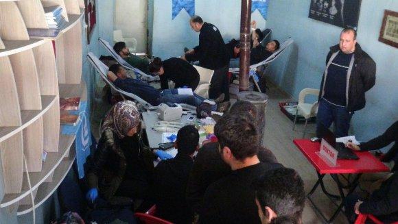 Ülkü Ocaklarından Mehmetçik İçin Kan Bağışı