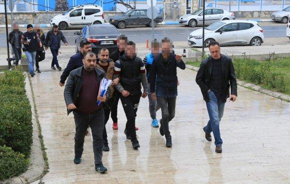 Milas'ta Yağma Ve Tehdit İddiasına 2 Tutuklama