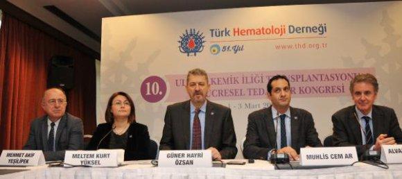 Türkiye'de kemik iliği nakil sayısı son 15 yılda arttı