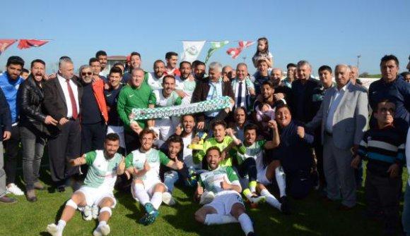 Serik Belediyespor şampiyonluğunu ilan etti